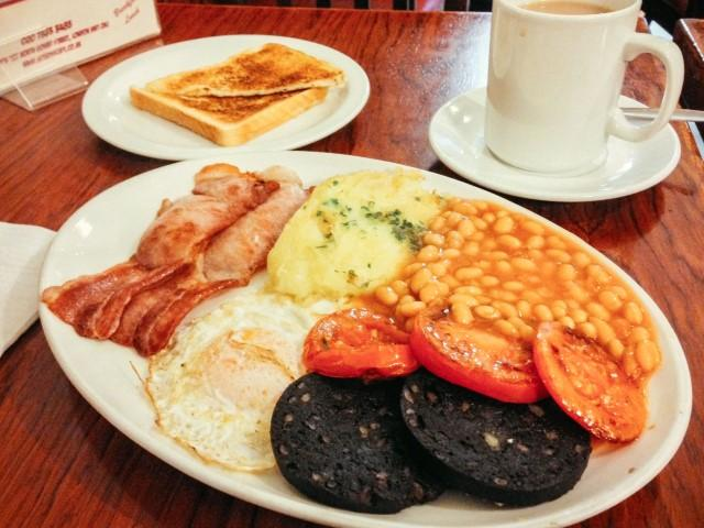 english breakfast london UK
