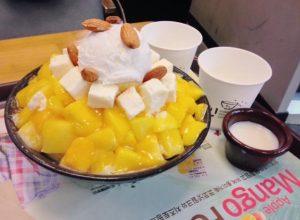 Bingsu best korean dessert