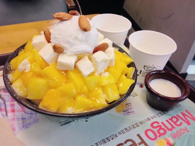 Bingsu best korean dessert
