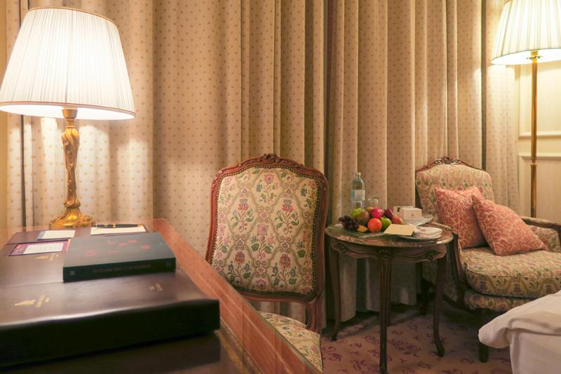 Grand Hotel Wien Review Travel Blog