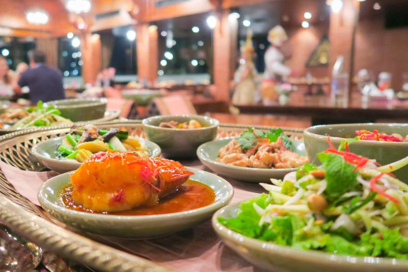 Thara Thong Restaurant: Authentic Thai Food and Dance Masterpiece Asia Bangkok Blog Restaurants Thailand