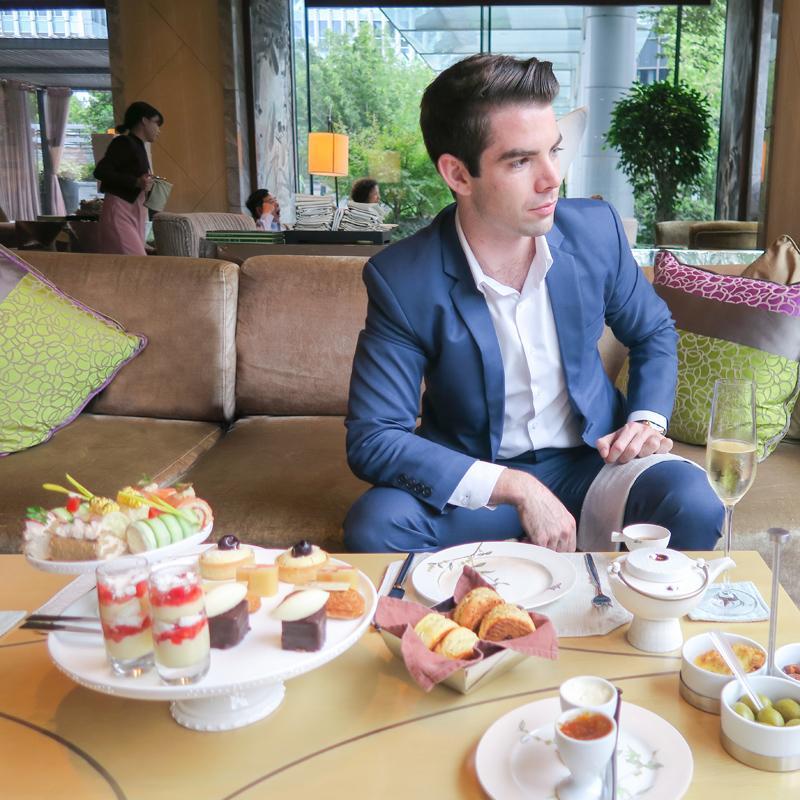Afternoon Tea in Shanghai at the Mandarin Oriental Asia Blog Cafes China Restaurants Shanghai
