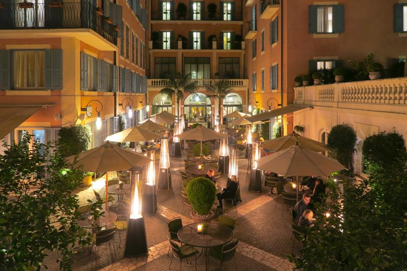 Le jardin de russie restaurant review an oasis in rome for Restaurant le jardin des fondues